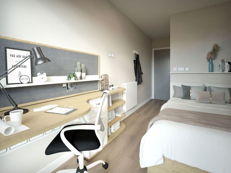 Bedroom at York House - Student Roost | PBSA News