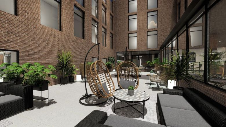 York House courtyard - Student Roost | PBSA News