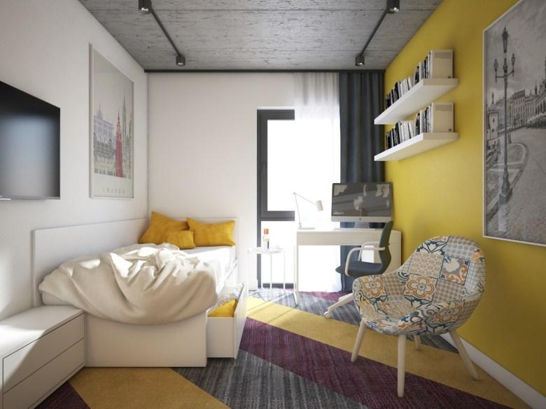 Purpose-built student room at scheme in Krakok - Falcon Development | PBSA News