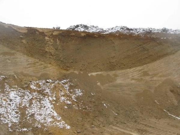 żwirowa rynna subglacjalna gravelly subglacial tunnel W Poland Gosia Pisarska-Jamrozy