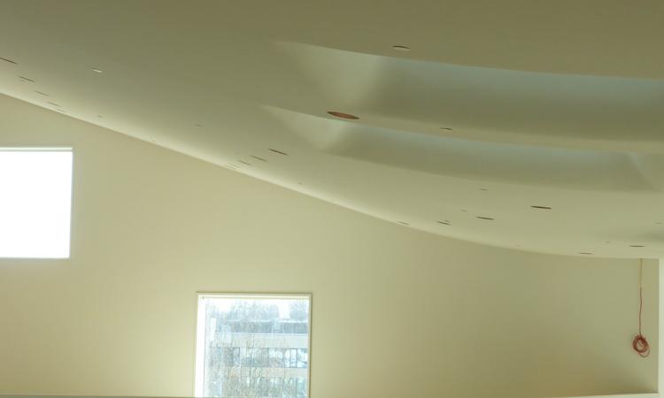 Naadloos akoestische plafonds