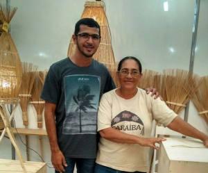 Igor participou do 25º Salão de Artesanato Paraibano em João Pessoa