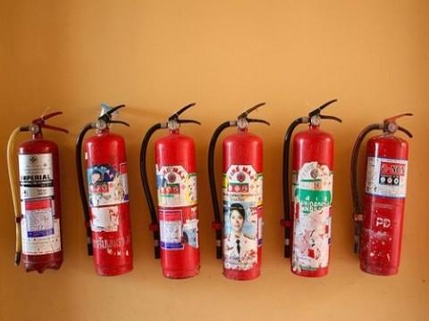 Видове пожарогасители