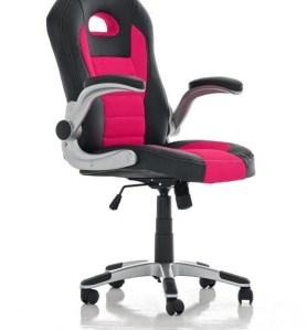 Clp Gaming stoel JOHN Racing bureaustoel - Sport seat racer - roze
