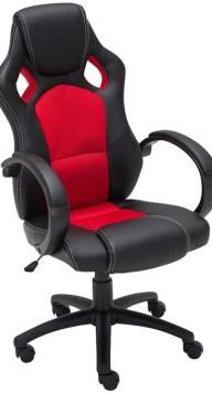 Clp Gaming-stoel - Racing bureaustoel FIRE - Sport seat Racer design - rood