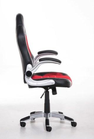 Clp Gaming stoel JOHN Racing bureaustoel - Sport seat racer - rood