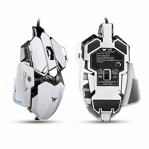 Geeek Optical USB Wired Professional Gaming Mouse Black Combaterwing