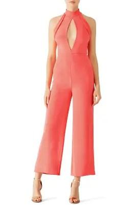 8d510b4a9755 Cushnie Et Ochs Pink Lauren Jumpsuit ...