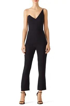 4730f5c1a937 Cushnie Et Ochs Black Tailored Jumpsuit ...