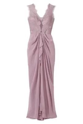 BCBGMAXAZRIA Lavender Brandy Gown