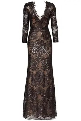 Marchesa Notte Trident Gown