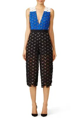 732c27ede5 MSGM Seeing Stripes Culotte Jumpsuit ...