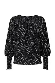 kate spade new york - Heartbeat Smocked Top