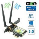 Ziyituod ZYT-AX200 PCIe x1 802.11a/b/g/n/ac/ax Wi-Fi Adapter image