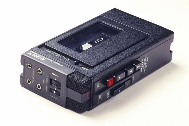 Sony Walkman, c 1980.