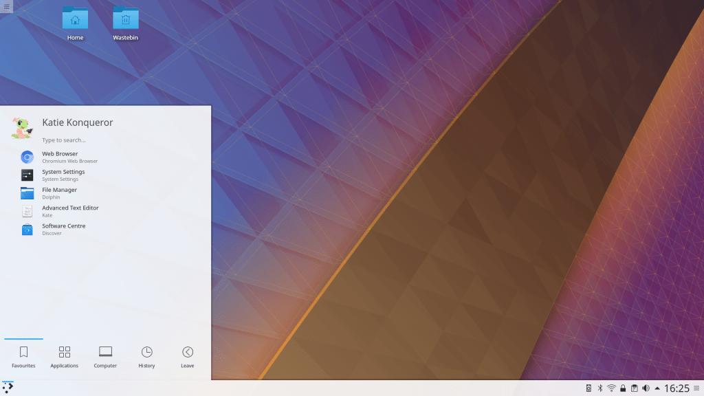 Linux のデスクトップ環境: KDE Plasma 5