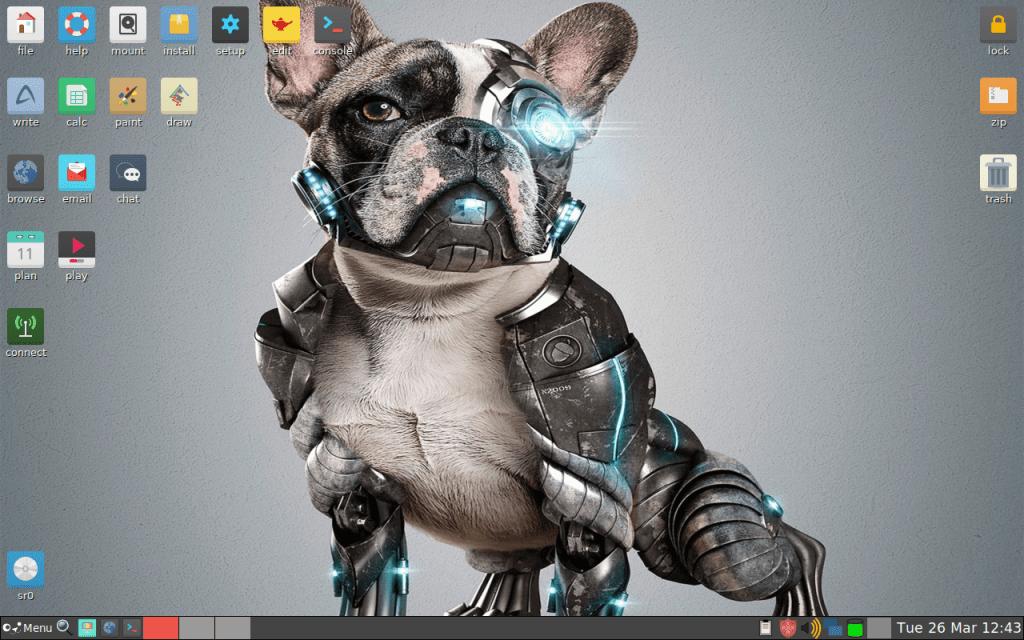 超軽量ディストロ Puppy Linux 8.0 がリリースされたので、