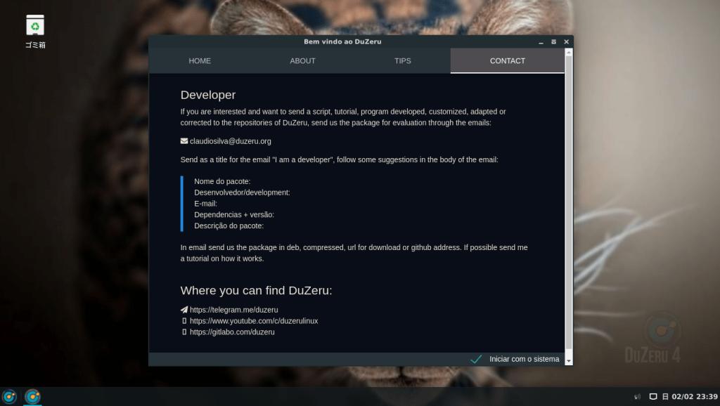 DuZeru GNU/Linux のインストールと日本語化に挑戦。