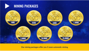 FuturoCoin Mining Packages
