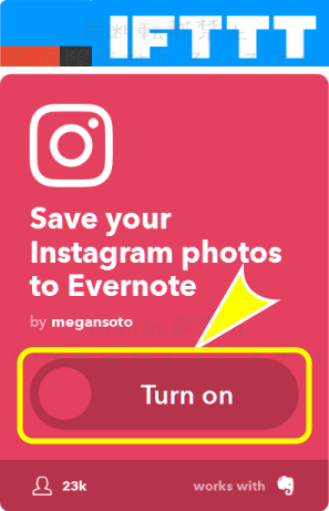 Instagram-Evernote