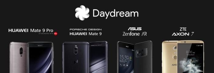 Smartphones compatibles con Daydream