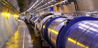 The Large Hadron Collider (LHC) restarts its operations after shutting down for two years