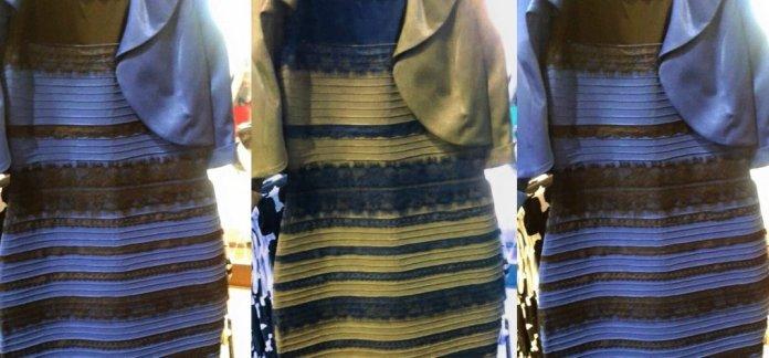 WhiteGoldBlackBlue dress