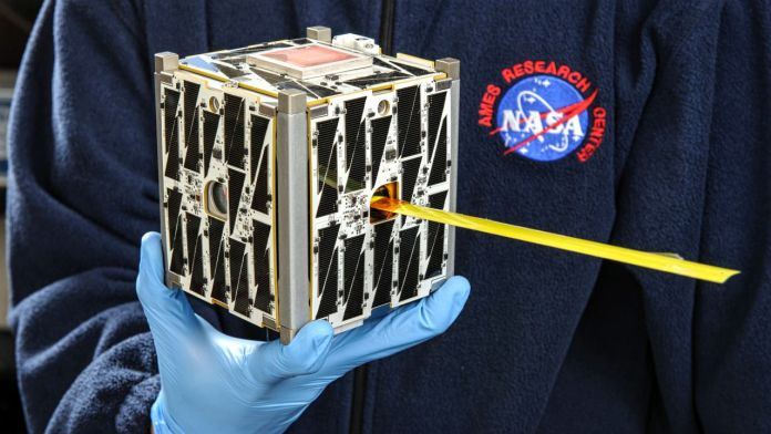 NASA Miniature Satellite CubeSat