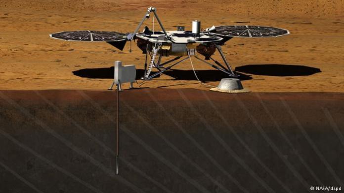 Mars NASA InSight 2016