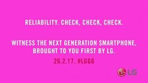 LG G6 new teaser