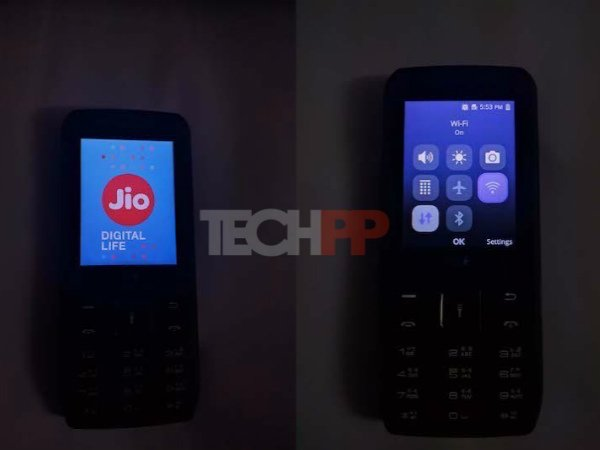 Reliance Jio feature phone
