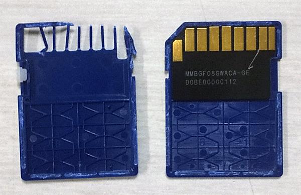 SDカード分解