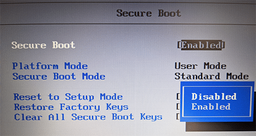 secureboot