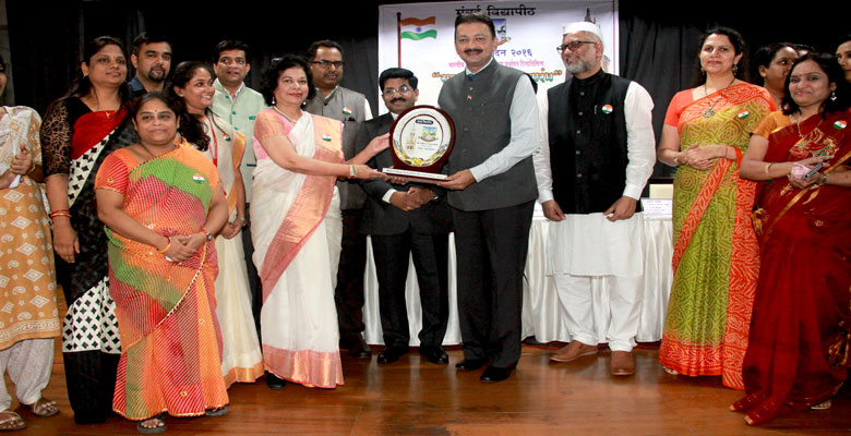 An honour : Pillai College of Arts, Commerce & Science has been awarded the
