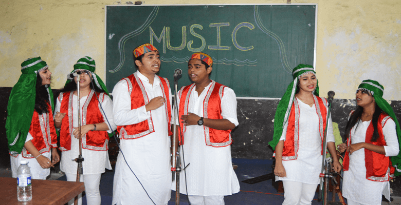 Our Indian Group Singing students got selected to represent Mumbai University at National Level at 49th Intercollegiate Youth Festival at Zonal Round