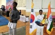 Pillai Taekwondo stars strikes Gold at National Level Championship