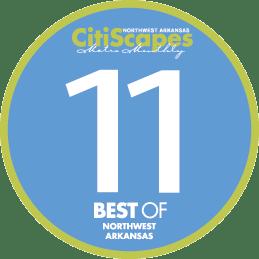 Best of Northwest Arkansas 2011 Winner by CitiScapes Magazine