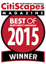 Best of Northwest Arkansas 2015 Winner by CitiScapes Magazine