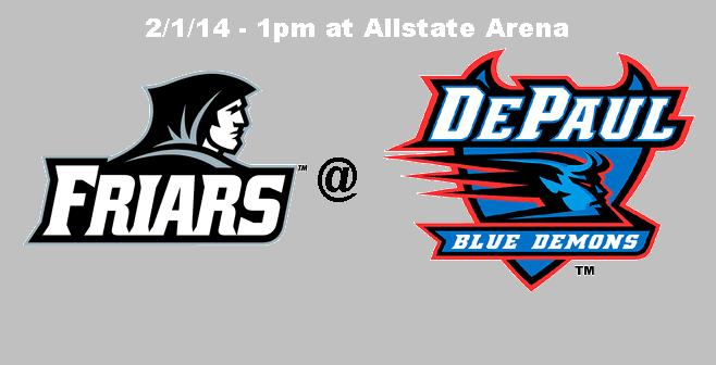 Game Notes & Preview: PC @ DePaul 2/1/14