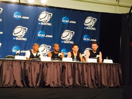 Providence Prepares for Dayton, Meets with the Media