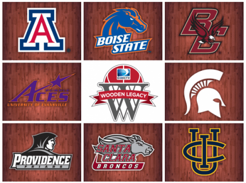 Bracket Officially Released for 2015 Wooden Legacy Tournament