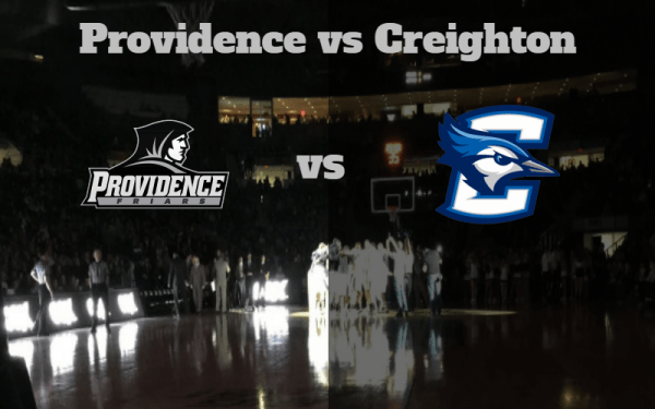 Game Notes & Preview: Providence (13-6, 4-2) vs Creighton (15-4, 5-2) 1/20/18