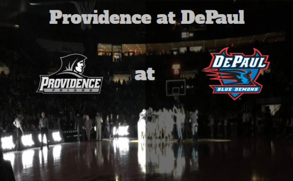 Game Notes & Preview: Providence (11-6, 2-2) at DePaul (8-8, 1-3) 1/12/18