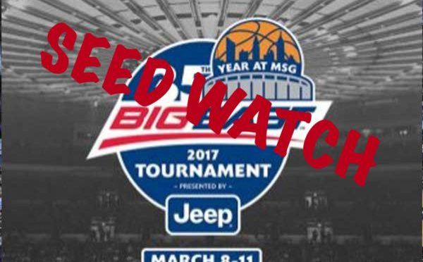 Big East Tournament Seed Watch Final Edition of 2017