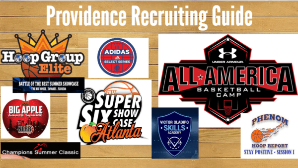 Providence Recruiting Guide to the Second July 2017 Live Evaluation Period