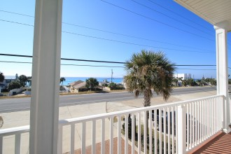 Stunning Gulf views from the private balcony.