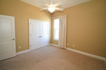 Additional bedroom with large closet.