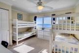 Beach condo with ocean views from bedroom
