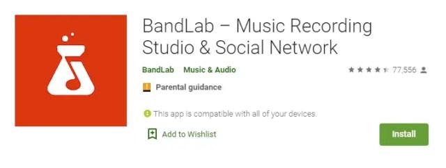 download bandlab for pc