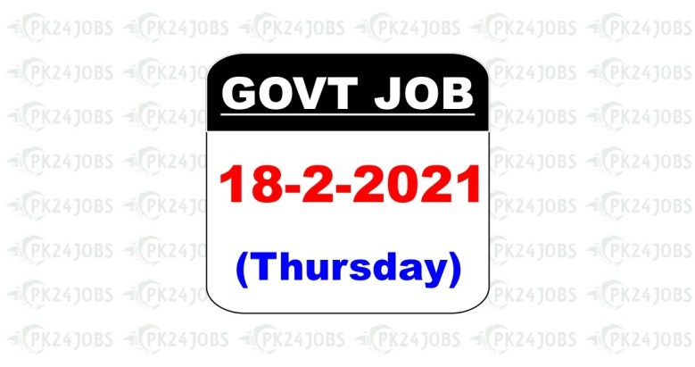 Latest Jobs in Pakistan in Soil and Water Conservation Department KPK Jobs 2021